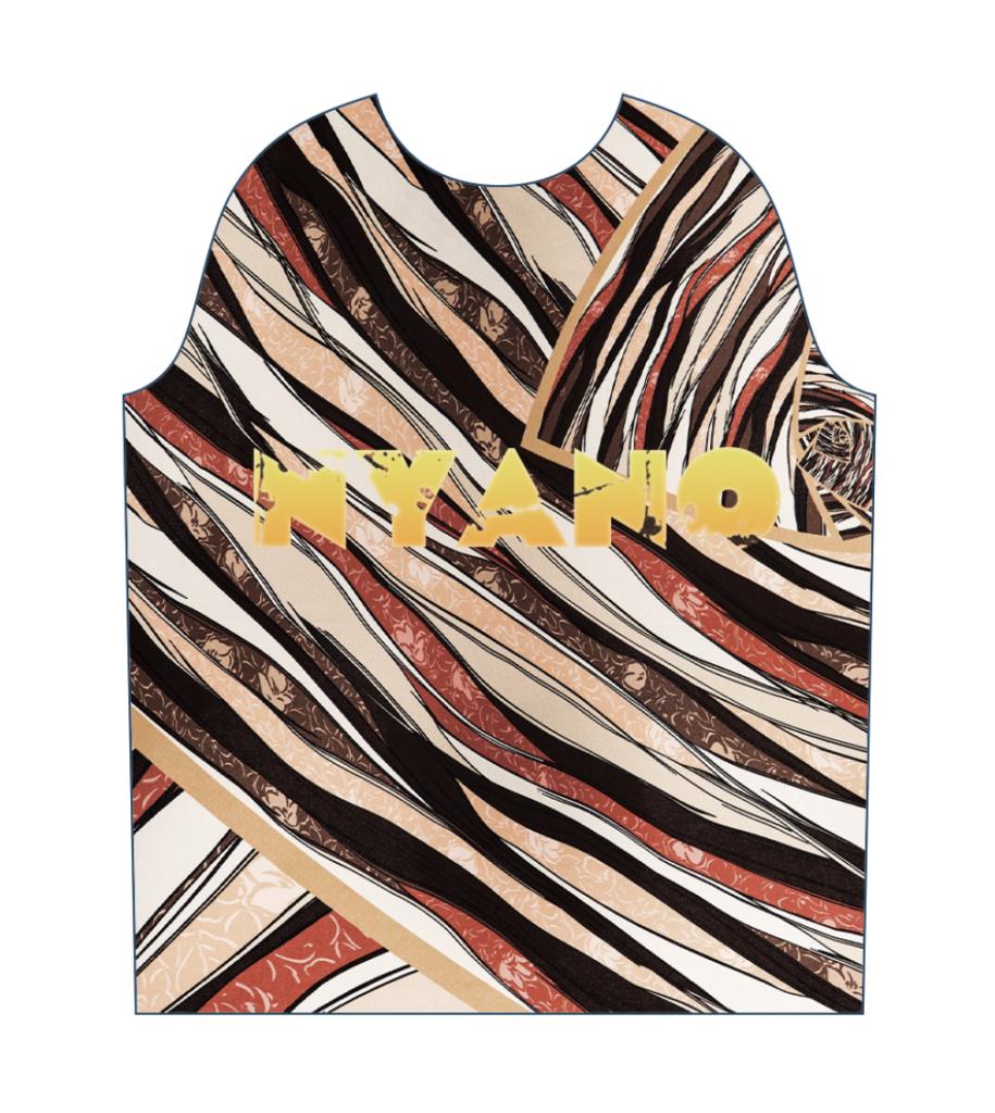 サッカーシャツ テキスタイルデザイン