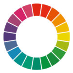 色相で考える、服のコーディネートと配色比率