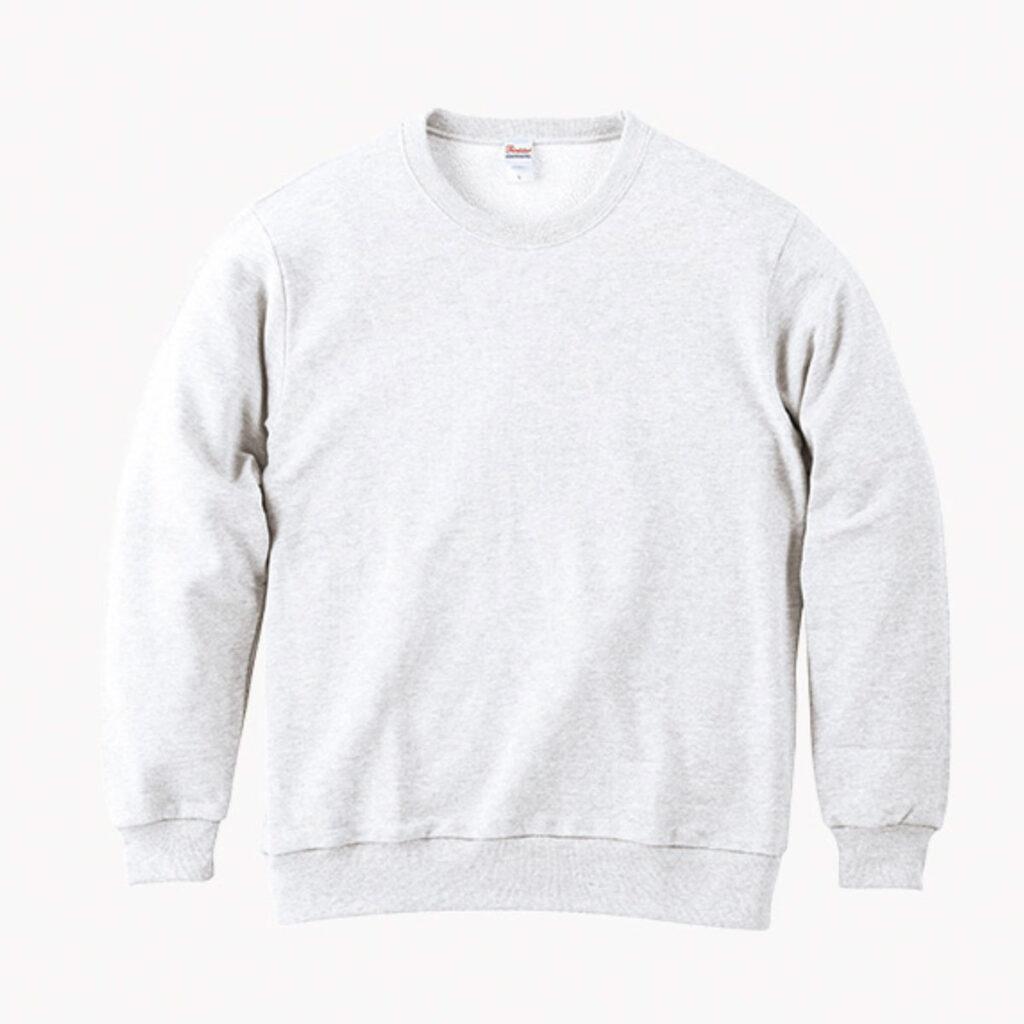 ライトスウェットシャツ 白