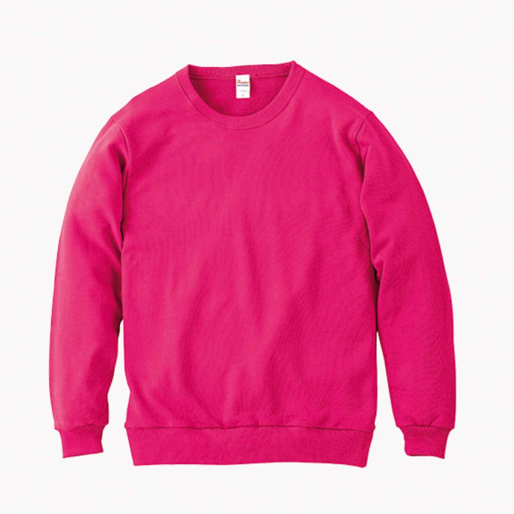 ライトスウェットシャツ ピンク