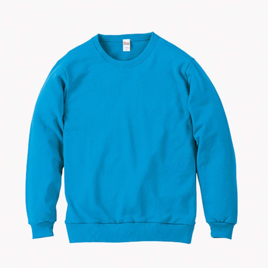 ライトスウェットシャツ 水色