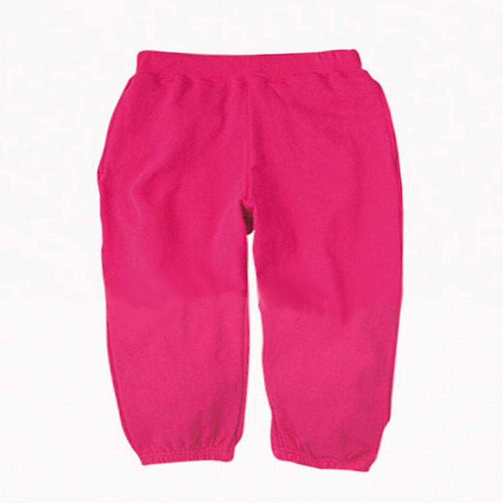 スウェットパンツ キッズ ピンク