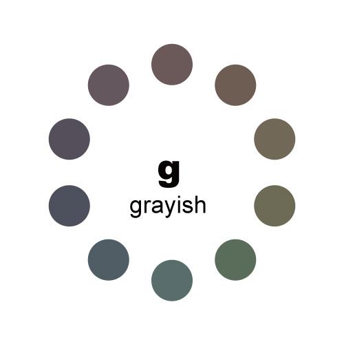 グレイッシュトーン