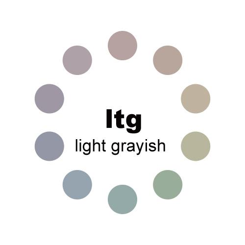 ライトグレイッシュトーン