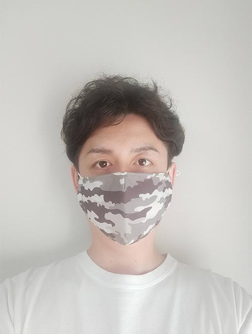 総柄マスク