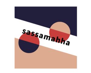 【イラレ】ロゴづくりの基礎練習 – 長方形で斜線をつくり、文字も斜めにする