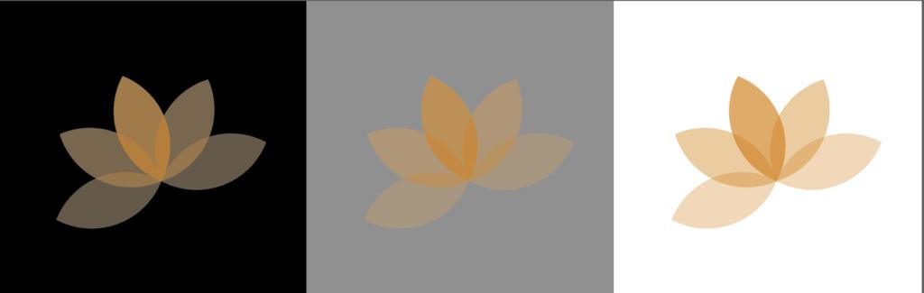 イラレ透明ロゴ