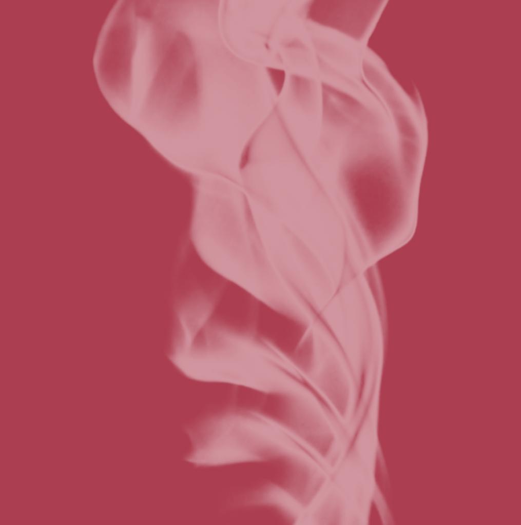 透明ブラシ煙