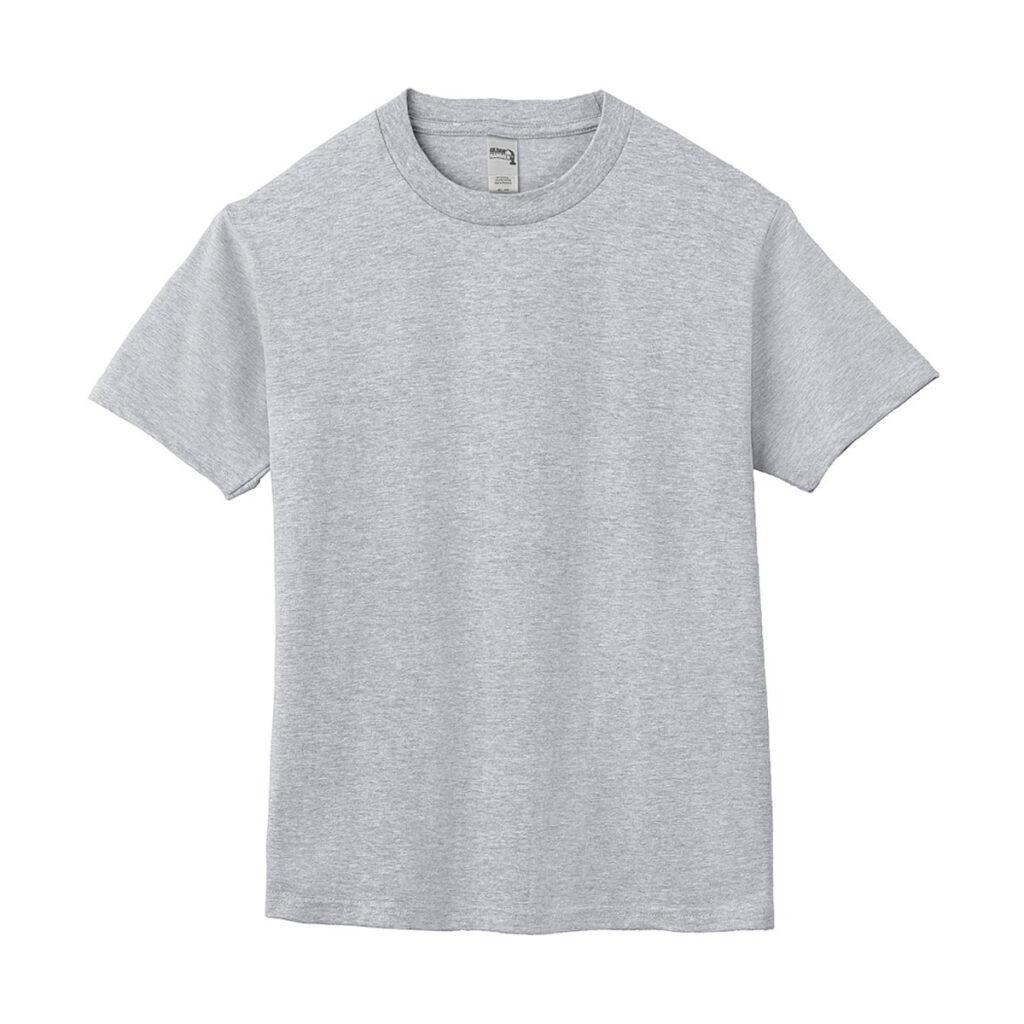 クルーネックTシャツ グレー