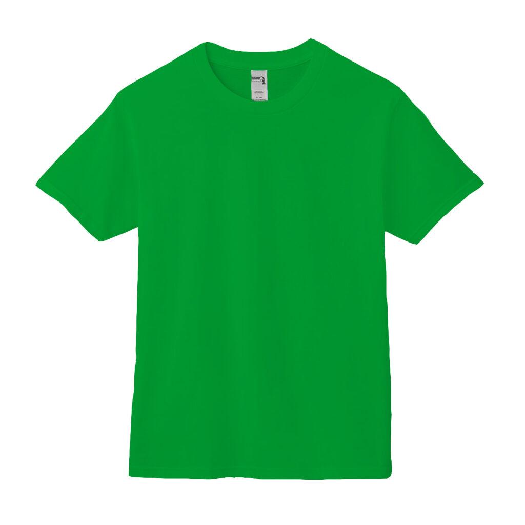 クルーネックTシャツ グリーン