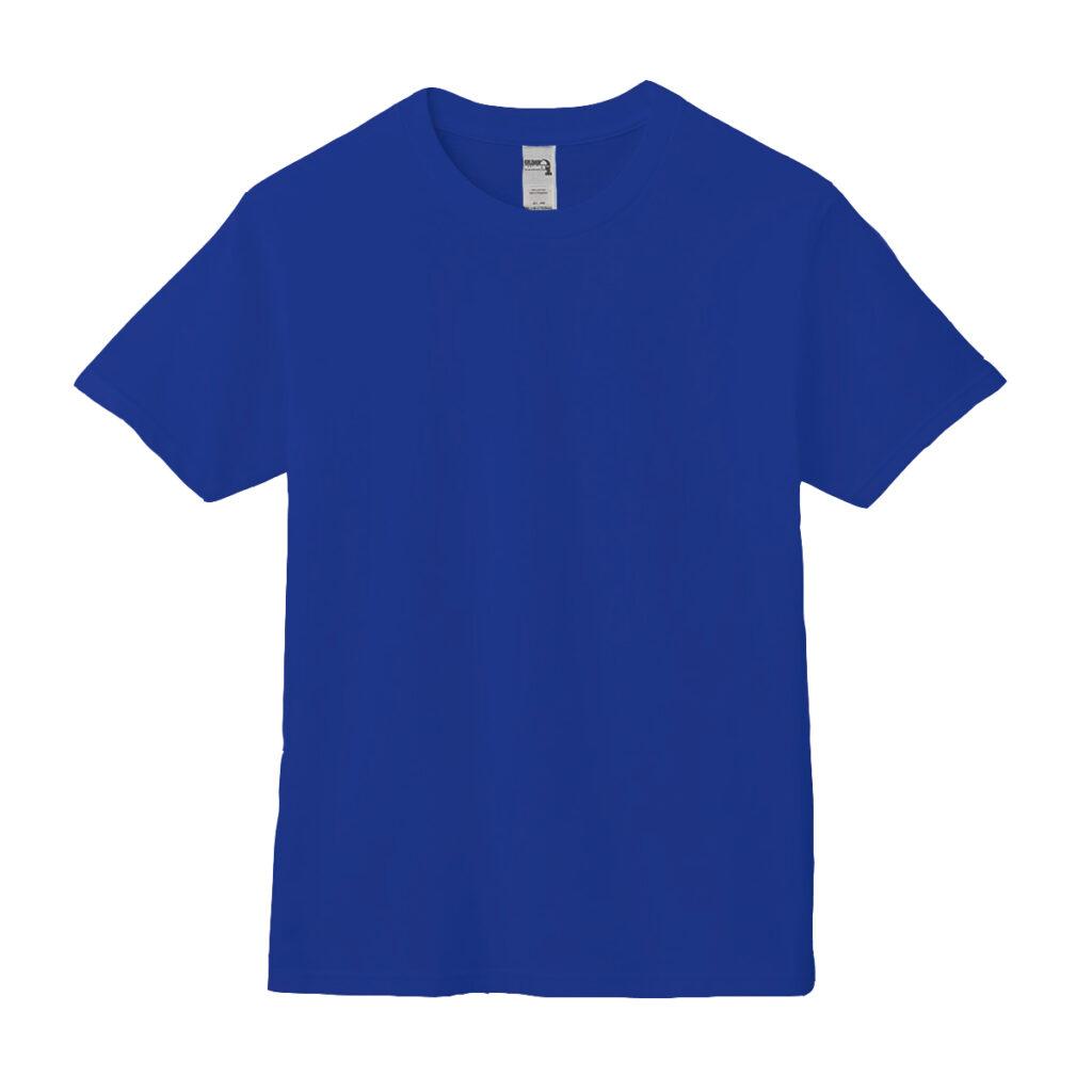 クルーネックTシャツ ブルー