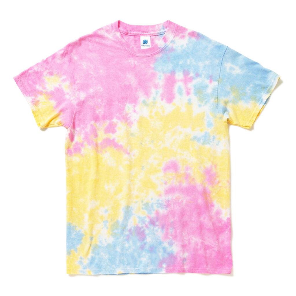 タイダイTシャツ ピンクブルー