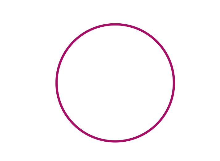 イラレなみなみ円形ロゴ作り方1